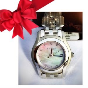 💝GREAT GIFT! GUCCI DIAMOND & MOTHER OF PEARL